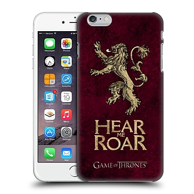 Official Hbo Game Of Thrones Dark Distressed Sigils Lannister Hard Back Case For Apple Iphone 6 Plus / 6S Plus