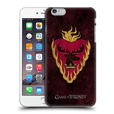 Official Hbo Game Of Thrones Dark Distressed Sigils Stannis Hard Back Case For Apple Iphone 6 Plus / 6S Plus