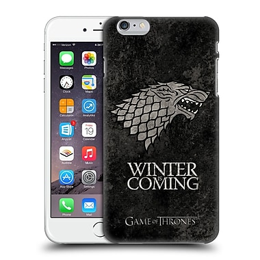 Official Hbo Game Of Thrones Dark Distressed Sigils Stark Hard Back Case For Apple Iphone 6 Plus / 6S Plus