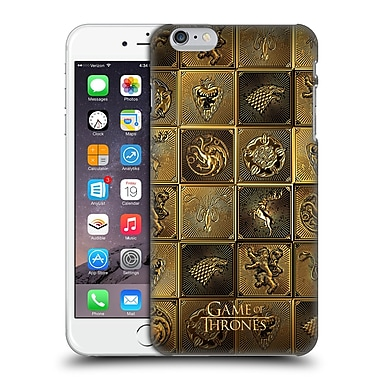 Official Hbo Game Of Thrones Golden Sigils All Houses Hard Back Case For Apple Iphone 6 Plus / 6S Plus