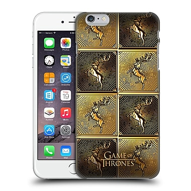 Official Hbo Game Of Thrones Golden Sigils Baratheon Hard Back Case For Apple Iphone 6 Plus / 6S Plus