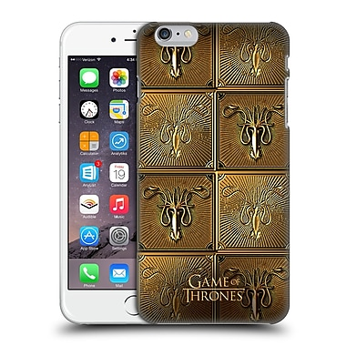 Official Hbo Game Of Thrones Golden Sigils Greyjoy Hard Back Case For Apple Iphone 6 Plus / 6S Plus