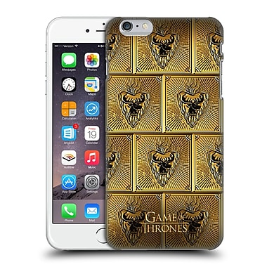 Official Hbo Game Of Thrones Golden Sigils Stannis Hard Back Case For Apple Iphone 6 Plus / 6S Plus