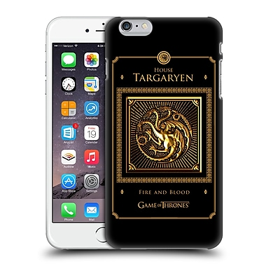 Official Hbo Game Of Thrones Golden Sigils Targaryen Border Hard Back Case For Apple Iphone 6 Plus / 6S Plus