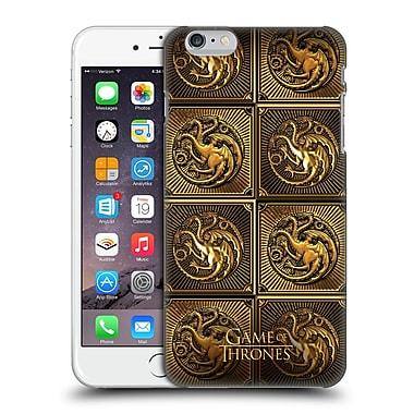 Official Hbo Game Of Thrones Golden Sigils Targaryen Hard Back Case For Apple Iphone 6 Plus / 6S Plus