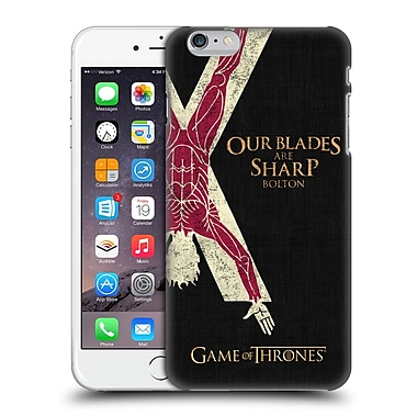 Official Hbo Game Of Thrones House Mottos Bolton Hard Back Case For Apple Iphone 6 Plus / 6S Plus