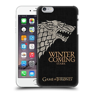 Official Hbo Game Of Thrones House Mottos Stark Hard Back Case For Apple Iphone 6 Plus / 6S Plus