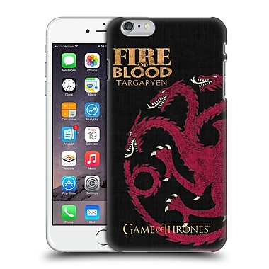 Official Hbo Game Of Thrones House Mottos Targaryen Hard Back Case For Apple Iphone 6 Plus / 6S Plus