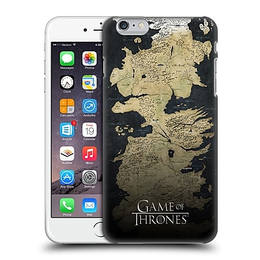 Official Hbo Game Of Thrones Key Art Westeros Map Hard Back Case For Apple Iphone 6 Plus / 6S Plus