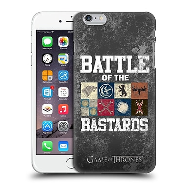 Official Hbo Game Of Thrones Battle Of The Bastards Distressed Text & Sigils Hard Back Case For Apple Iphone 6 Plus / 6S Plus