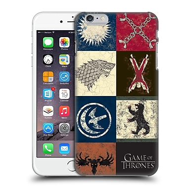 Official Hbo Game Of Thrones Battle Of The Bastards House Sigils Hard Back Case For Apple Iphone 6 Plus / 6S Plus