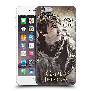 Official Hbo Game Of Thrones Character Quotes Bran Stark Hard Back Case For Apple Iphone 6 Plus / 6S Plus