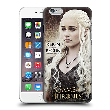 Official Hbo Game Of Thrones Character Quotes Daenerys Targaryen Hard Back Case For Apple Iphone 6 Plus / 6S Plus