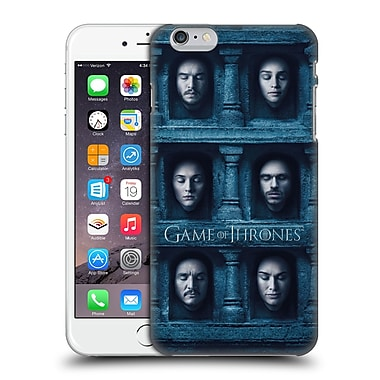 Official Hbo Game Of Thrones Faces Six Heads Hard Back Case For Apple Iphone 6 Plus / 6S Plus
