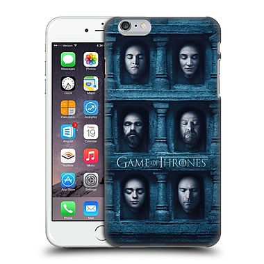 Official Hbo Game Of Thrones Faces 2 Six Heads Hard Back Case For Apple Iphone 6 Plus / 6S Plus