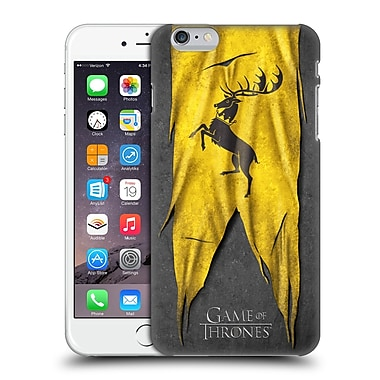 Official Hbo Game Of Thrones Sigil Flags Baratheon Hard Back Case For Apple Iphone 6 Plus / 6S Plus