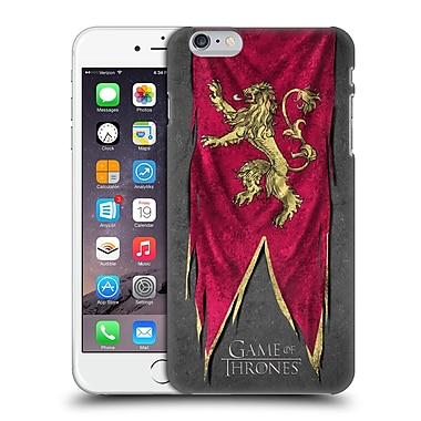 Official Hbo Game Of Thrones Sigil Flags Lannister Hard Back Case For Apple Iphone 6 Plus / 6S Plus