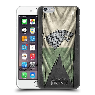 Official Hbo Game Of Thrones Sigil Flags Stark Hard Back Case For Apple Iphone 6 Plus / 6S Plus