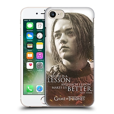 Official Hbo Game Of Thrones Character Portraits Arya Stark Hard Back Case For Apple Iphone 7