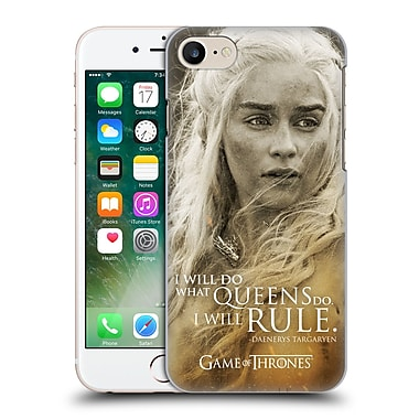 Official Hbo Game Of Thrones Character Portraits Daenerys Targaryen Hard Back Case For Apple Iphone 7