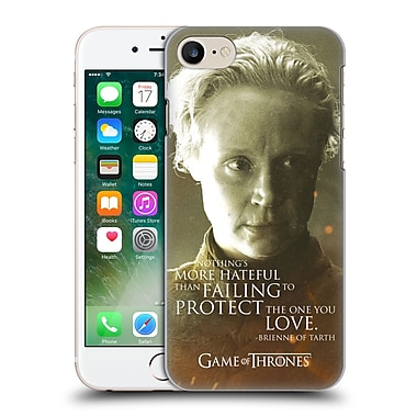 Official Hbo Game Of Thrones Character Portraits Brienne Of Tarth Hard Back Case For Apple Iphone 7