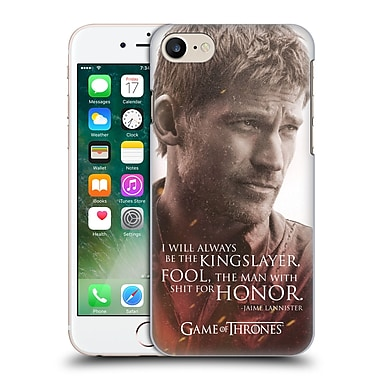 Official Hbo Game Of Thrones Character Portraits Jaime Lannister Hard Back Case For Apple Iphone 7
