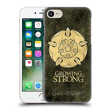 Official Hbo Game Of Thrones Dark Distressed Sigils Tyrell Hard Back Case For Apple Iphone 7