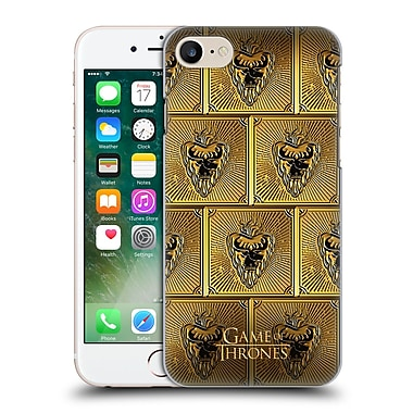 Official Hbo Game Of Thrones Golden Sigils Stannis Hard Back Case For Apple Iphone 7