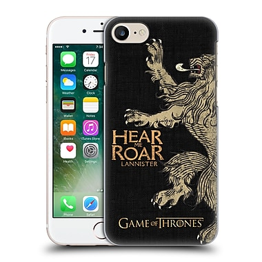 Official Hbo Game Of Thrones House Mottos Lannister Hard Back Case For Apple Iphone 7