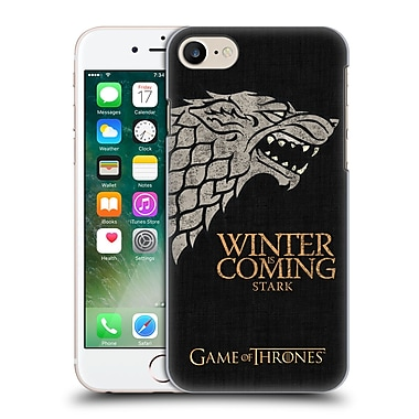 Official Hbo Game Of Thrones House Mottos Stark Hard Back Case For Apple Iphone 7