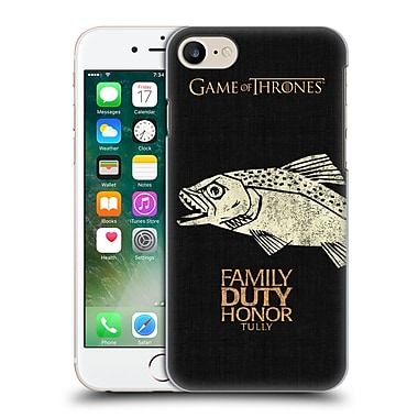 Official Hbo Game Of Thrones House Mottos Tully Hard Back Case For Apple Iphone 7
