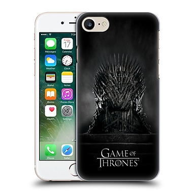 Official Hbo Game Of Thrones Key Art Iron Throne Hard Back Case For Apple Iphone 7