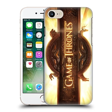 Official Hbo Game Of Thrones Key Art Opening Sequence Hard Back Case For Apple Iphone 7