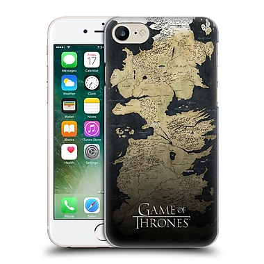 Official Hbo Game Of Thrones Key Art Westeros Map Hard Back Case For Apple Iphone 7