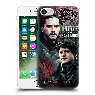 Official Hbo Game Of Thrones Battle Of The Bastards Jon Versus Ramsay Hard Back Case For Apple Iphone 7