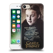 Official Hbo Game Of Thrones Character Quotes Lyanna Mormont Hard Back Case For Apple Iphone 7