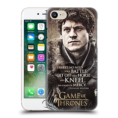 Official Hbo Game Of Thrones Character Quotes Ramsay Bolton Hard Back Case For Apple Iphone 7