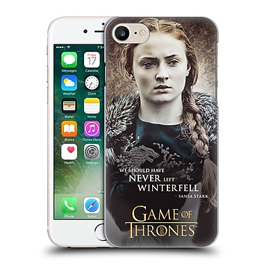 Official Hbo Game Of Thrones Character Quotes Sansa Stark Hard Back Case For Apple Iphone 7