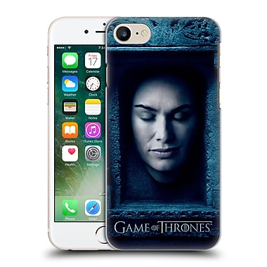 Official Hbo Game Of Thrones Faces Cersei Lannister Hard Back Case For Apple Iphone 7