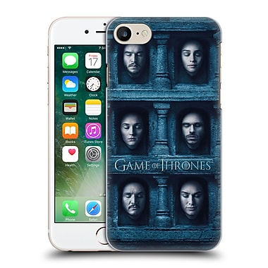Official Hbo Game Of Thrones Faces Six Heads Hard Back Case For Apple Iphone 7