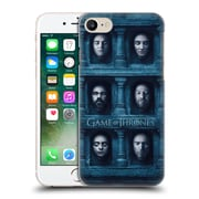 Official Hbo Game Of Thrones Faces 2 Six Heads Hard Back Case For Apple Iphone 7