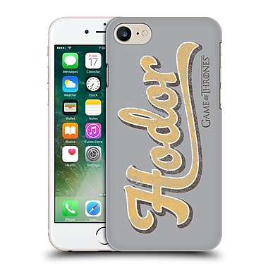 Official Hbo Game Of Thrones Hodor Athletic Typography Hard Back Case For Apple Iphone 7
