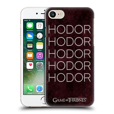 Official Hbo Game Of Thrones Hodor Hold The Door 1 Hard Back Case For Apple Iphone 7