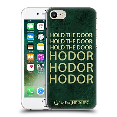 Official Hbo Game Of Thrones Hodor Name Hard Back Case For Apple Iphone 7