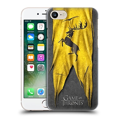 Official Hbo Game Of Thrones Sigil Flags Baratheon Hard Back Case For Apple Iphone 7