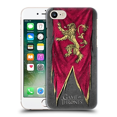 Official Hbo Game Of Thrones Sigil Flags Lannister Hard Back Case For Apple Iphone 7