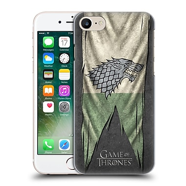 Official Hbo Game Of Thrones Sigil Flags Stark Hard Back Case For Apple Iphone 7