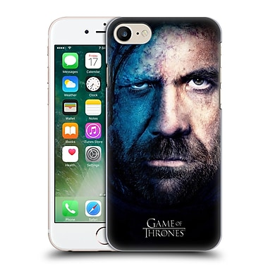 Official Hbo Game Of Thrones Valar Morghulis Sandor Clegane Hard Back Case For Apple Iphone 7
