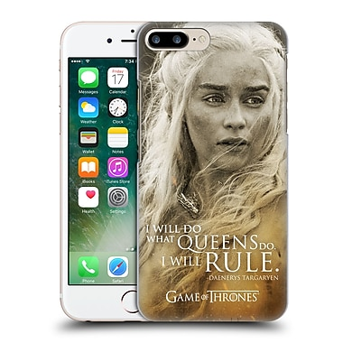 Official Hbo Game Of Thrones Character Portraits Daenerys Targaryen Hard Back Case For Apple Iphone 7 Plus