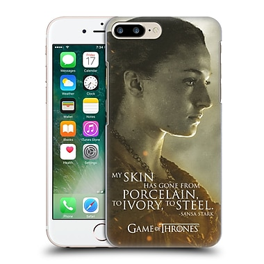 Official Hbo Game Of Thrones Character Portraits Sansa Stark Hard Back Case For Apple Iphone 7 Plus